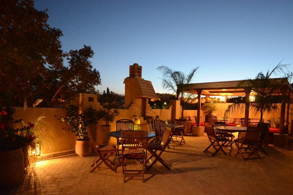 Dar Roumana Roof terrace