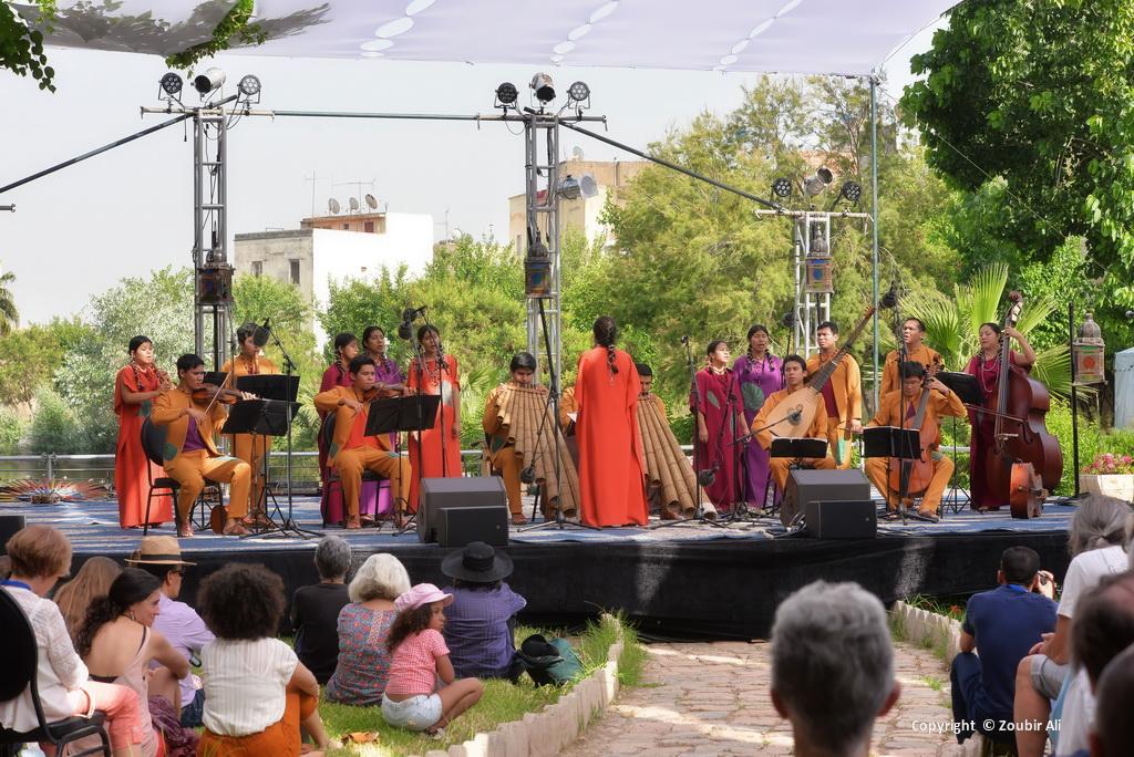 Ensemble Moxos, Jnan Sbil Garden, Fes 2019