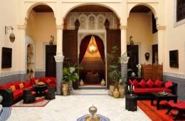 Riad-Ibn-Battouta-courtyard