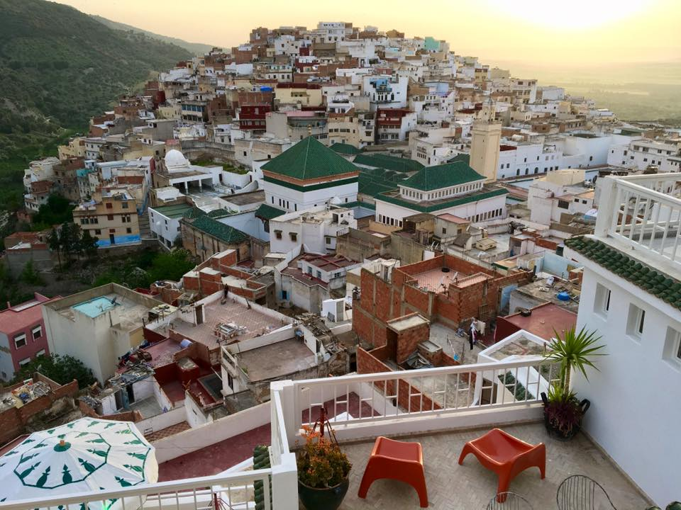 Scorpion House Moulay Idriss